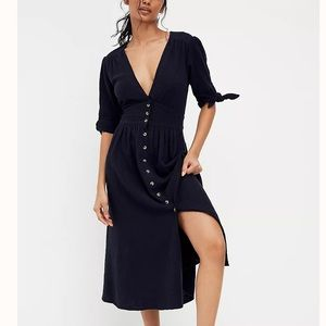 NEW! Free People 'Love Of My Life' Midi Dress
